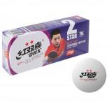 Мячи пластиковые DHS 2** 40+ 10шт (белые)