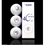 Мячи пластиковые SWORD 3*** 40+ 3шт ITTF (белые)