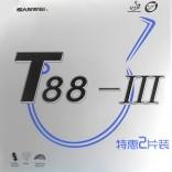 Набор накладок SANWEI T88-III (красная+черная)